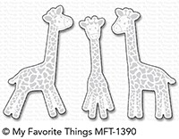 My Favorite Things PLAYFUL GIRAFFES Die-Namics MFT1390 Preview Image