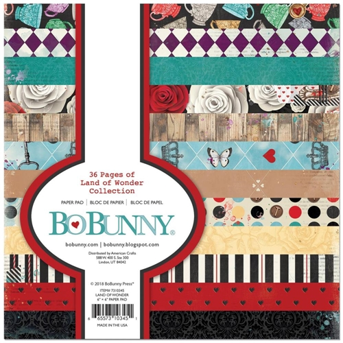 BoBunny 6 x 6 LAND OF WONDER Paper Pad 7310345 Preview Image