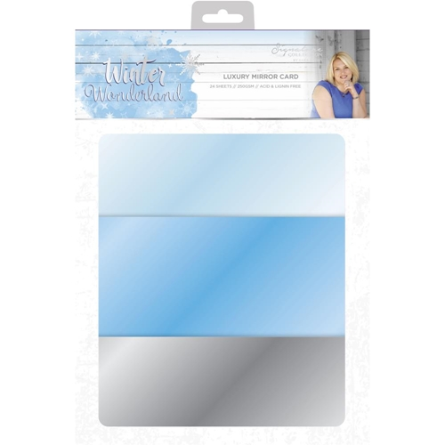Crafter's Companion WINTER WONDERLAND A4 Luxury Mirror Cardstock s-ww-mirror ** Preview Image
