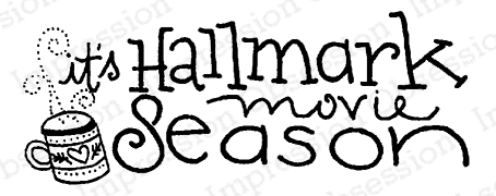 Impression Obsession Cling Stamp HALLMARK SEASON C19886 Preview Image