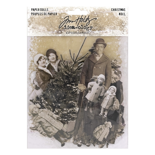 Tim Holtz Idea-ology CHRISTMAS Paper Dolls Paperie th93756* Preview Image