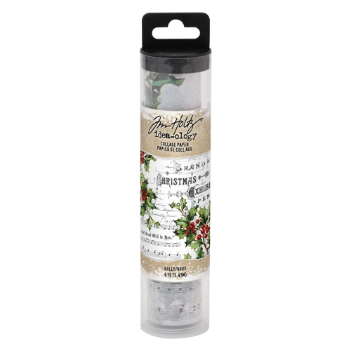 Tim Holtz Idea-ology HOLLY Collage Paper th93762 Preview Image