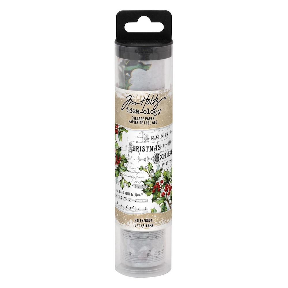 Tim Holtz Idea-ology HOLLY Collage Paper th93762 zoom image