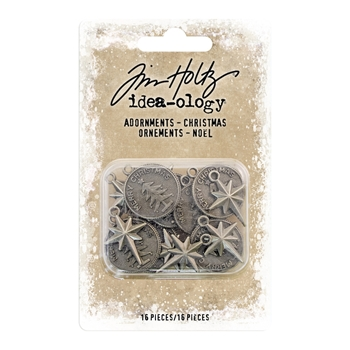 Tim Holtz Idea-ology CHRISTMAS Adornments th93764