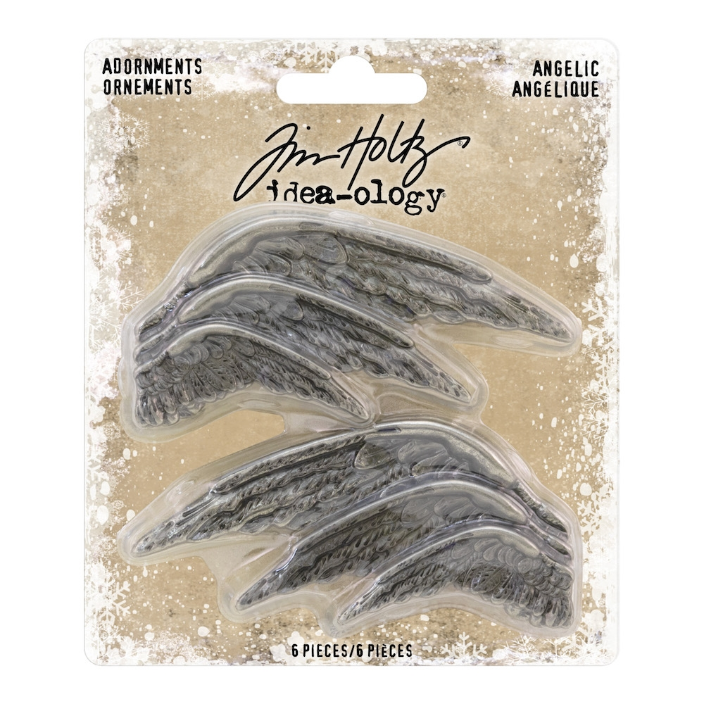 Tim Holtz Idea-ology ANGELIC Adornments th93773 zoom image