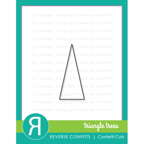 Reverse Confetti Cuts TRIANGLE TREES Die Preview Image