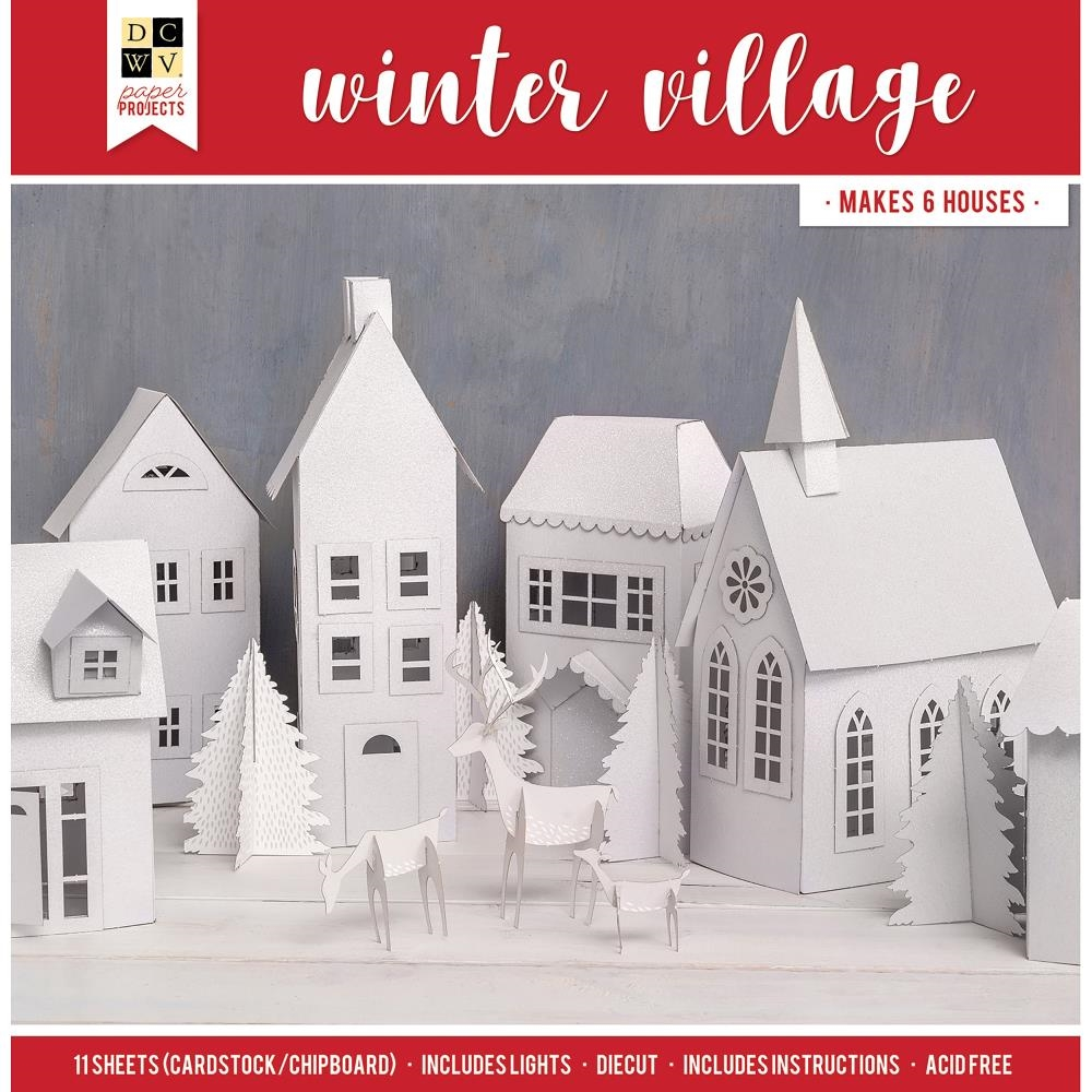 DCWV WINTER VILLAGE Paper Project 614731 zoom image