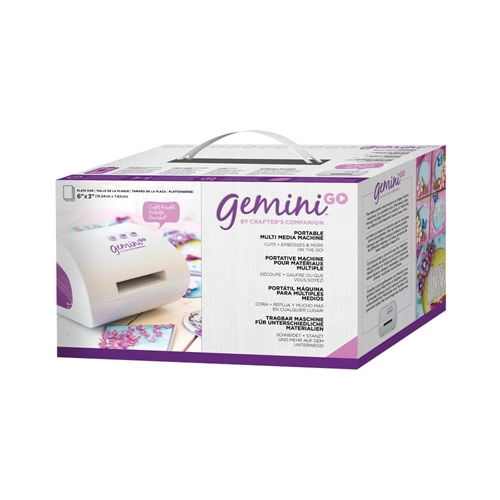 Crafter's Companion GEMINI GO Die-Cutting & Embossing Machine USA gemgo-m-glo Preview Image