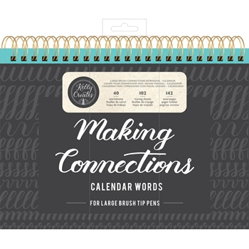 Kelly Creates LARGE BRUSH CALENDAR WORDS Workbook 348280*