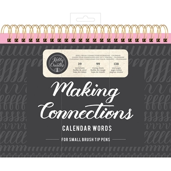 Kelly Creates SMALL BRUSH CALENDAR WORDS Workbook 348282*