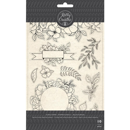 Kelly Creates FLORAL Clear Stamps 348275 Preview Image