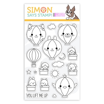 Clearly Besotted Clear Stamps LIFT ME UP sss101930 STAMPtember Exclusive