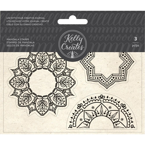 Kelly Creates MANDALA Clear Stamps 348279 Preview Image