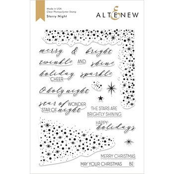 Altenew STARRY NIGHT Clear Stamps ALT2628