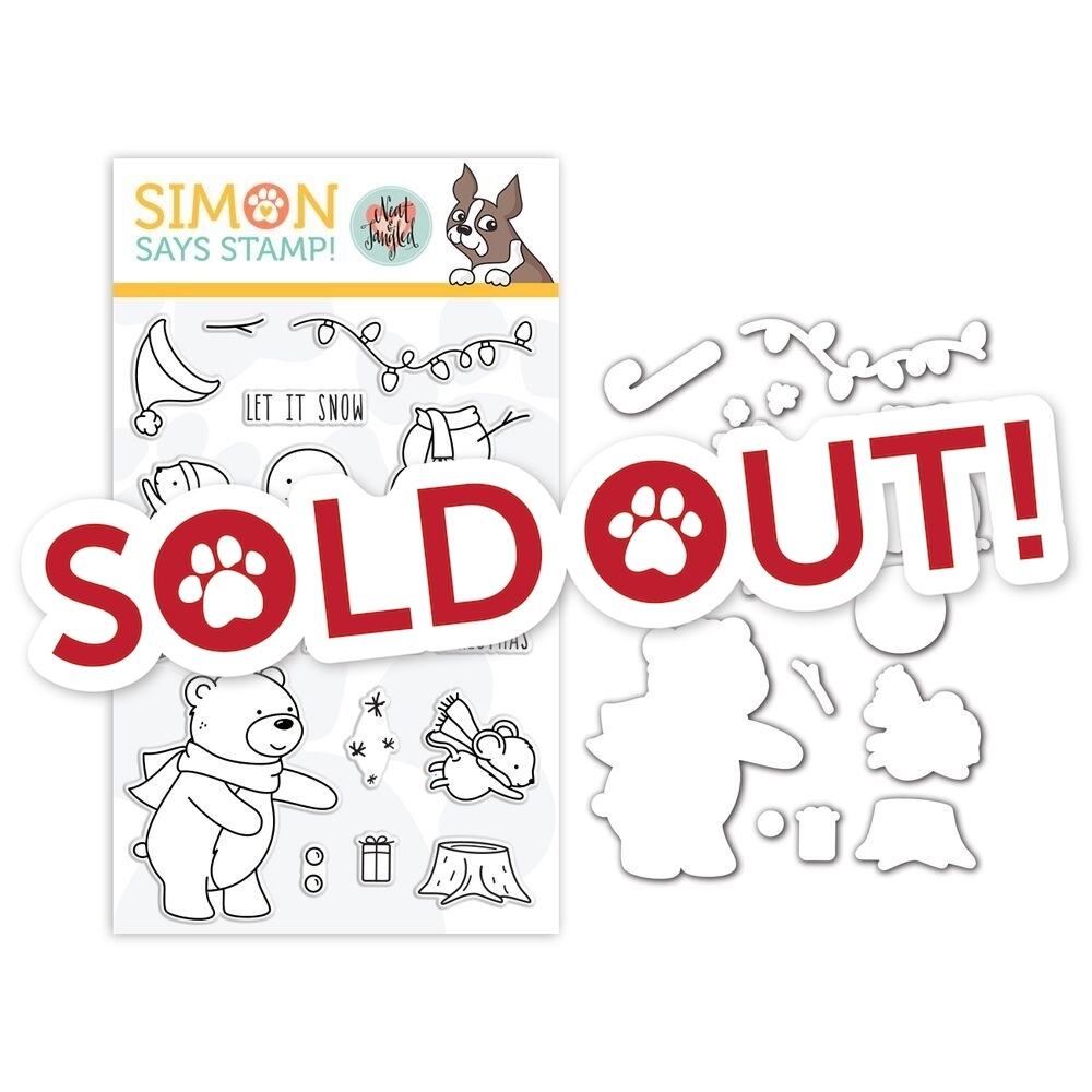 Neat & Tangled Clear Stamp and Die Set HOLIDAY HELPERS SR18SETNT STAMPtember Exclusive zoom image