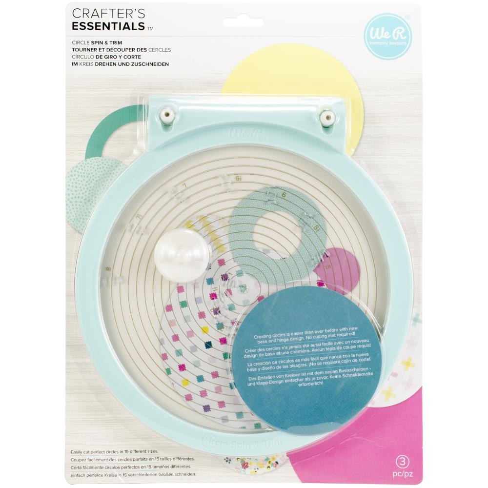 We R Memory Keepers CIRCLE SPIN AND TRIM Tool 660091 zoom image