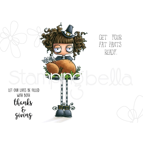 Stamping Bella Cling Stamp THANKSGIVING ODDBALL eb728 Preview Image