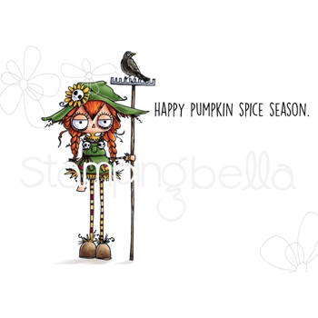 Stamping Bella Cling Stamp ODDBALL SCARECROW eb730