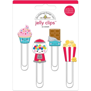 Doodlebug SO SWEET Jelly Clips Paper Clip Much Pun 6054*