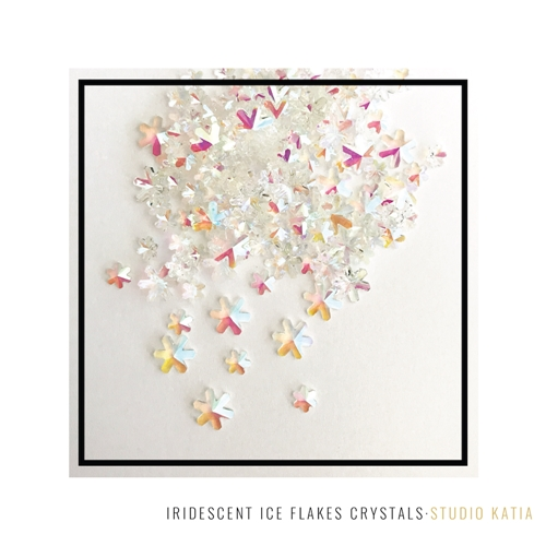 Studio Katia IRIDESCENT ICE FLAKES Crystals sk2433 Preview Image