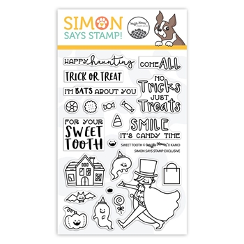 Waffle Flower Clear Stamps SWEET TOOTH sss101927 STAMPtember Exclusive