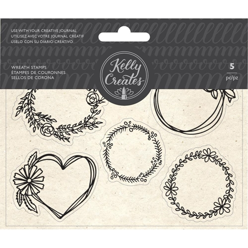Kelly Creates WREATH Clear Stamps 348276 Preview Image