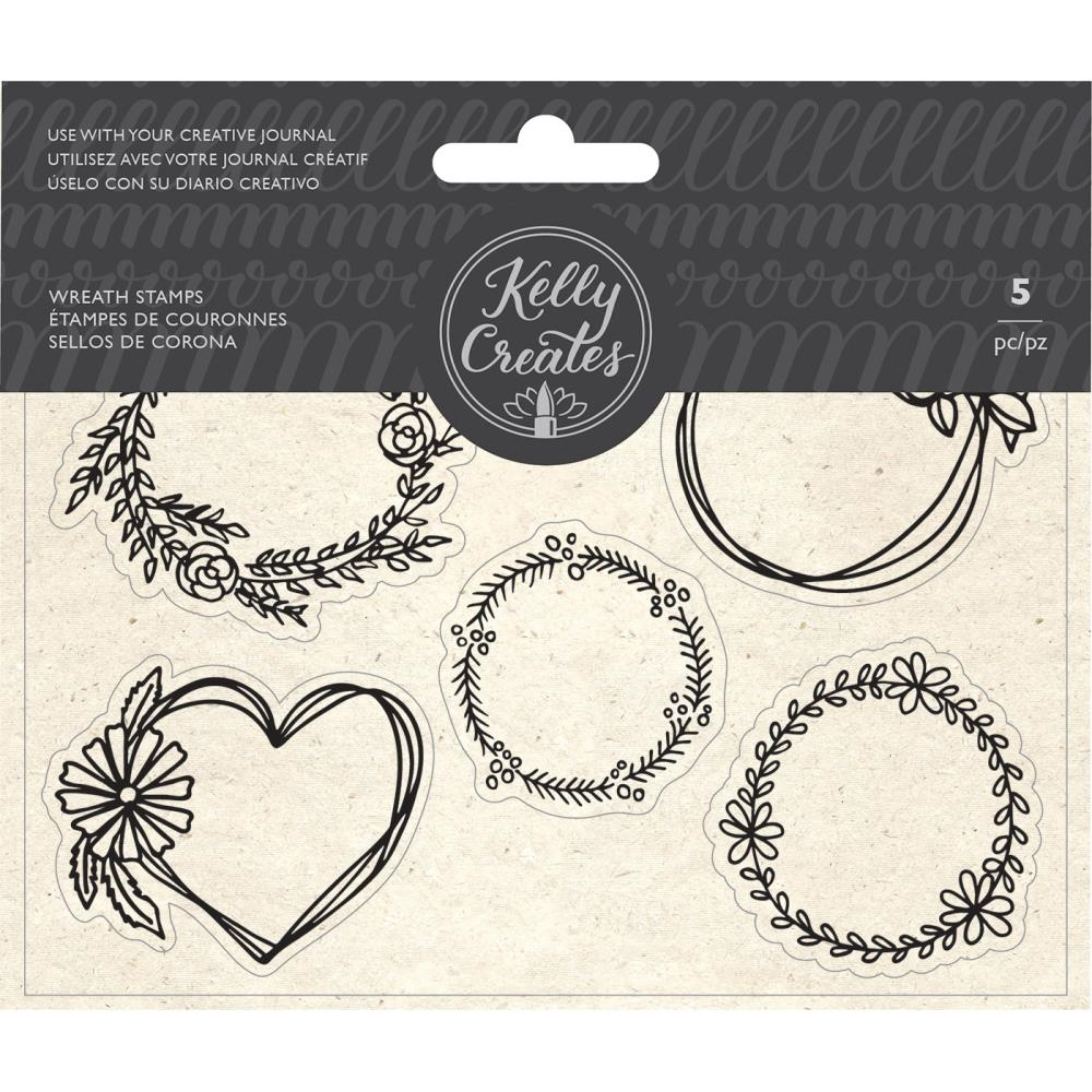 Kelly Creates WREATH Clear Stamps 348276 zoom image