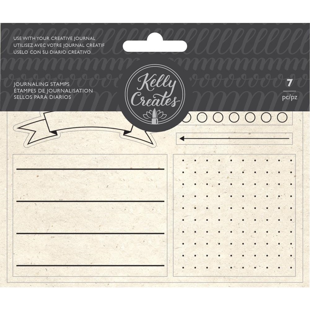 Kelly Creates JOURNALING Clear Stamps 348277 zoom image