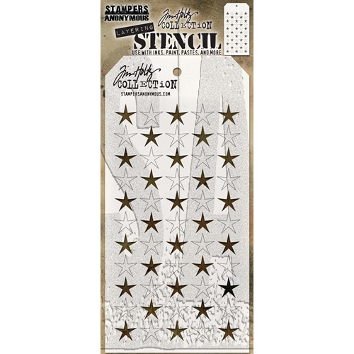 Tim Holtz Layering Stencil SHIFTER STARS THS111 Preview Image