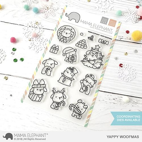 Mama Elephant Clear Stamps YAPPY WOOFMAS  zoom image