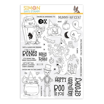 Simon Says Clear Stamps FRIGHTFUL FUN sss101941