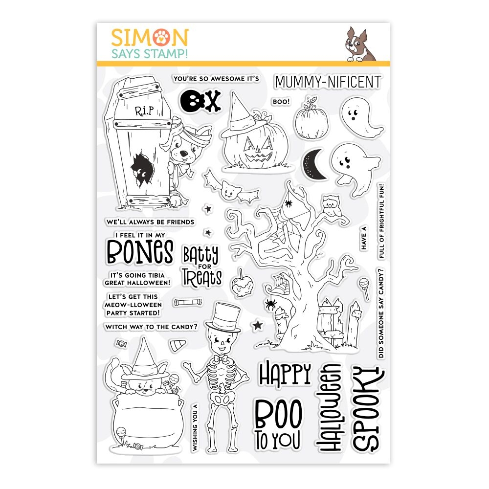 Simon Says Clear Stamps FRIGHTFUL FUN sss101941 zoom image