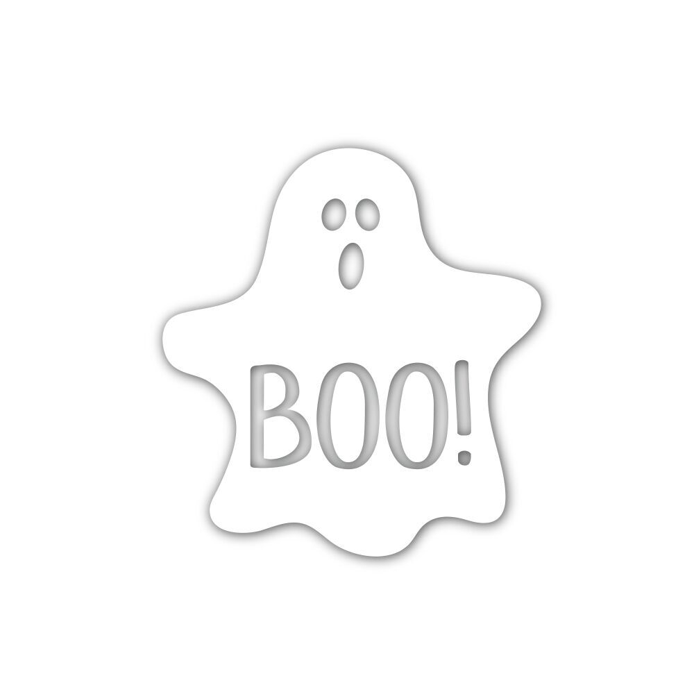 Simon Says Stamp GHOST BOO Wafer Die sssd111850 zoom image