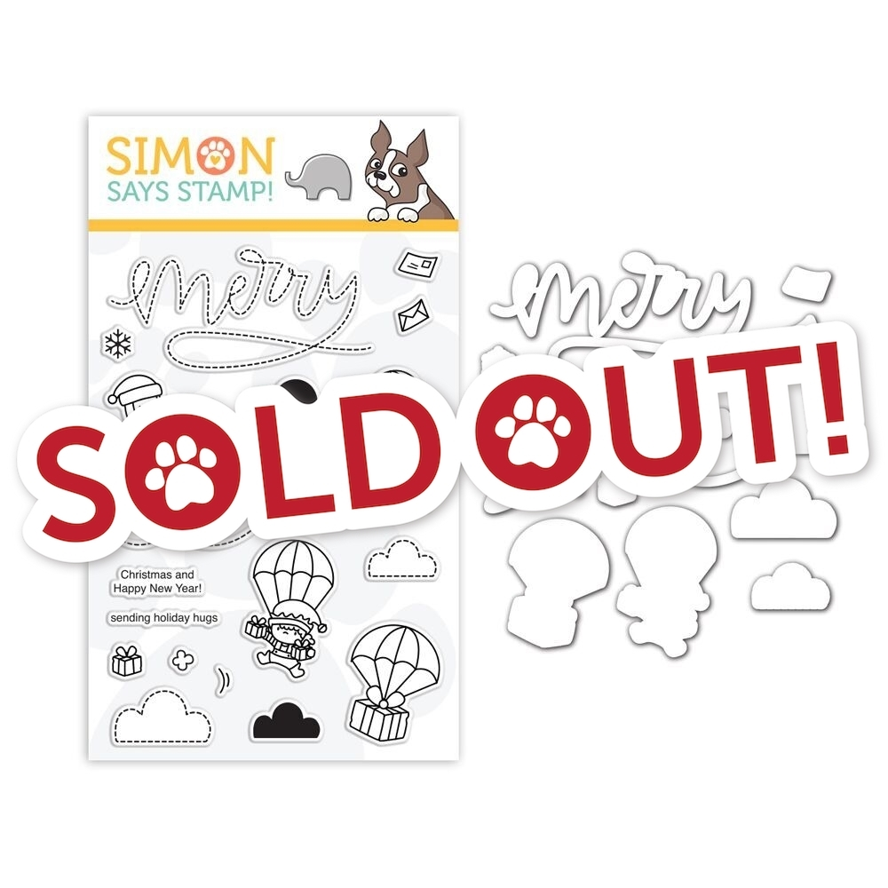 Mama Elephant Clear Stamp and Die Set MERRY MAIL SR18SETME STAMPtember Exclusive zoom image