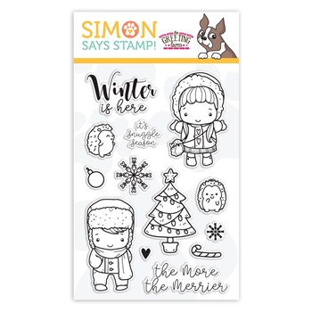 The Greeting Farm Clear Stamps WINTER IS HERE sss101936 STAMPtember Exclusive