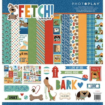 PhotoPlay FETCH 12 x 12 Collection Pack fwd9095