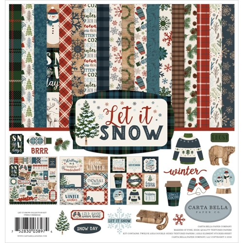Carta Bella Let it Snow 12x12 Collection