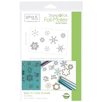 Therm O Web Gina K Designs BABY IT'S COLD OUTSIDE Foil-Mates 18118