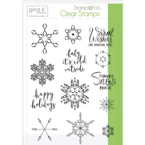 Therm O Web Gina K Designs BABY IT'S COLD OUTSIDE Clear Stamps 18120 Preview Image