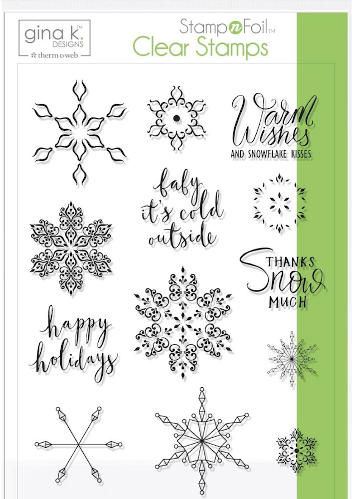 Therm O Web Gina K Designs BABY IT'S COLD OUTSIDE Clear Stamps 18120 zoom image