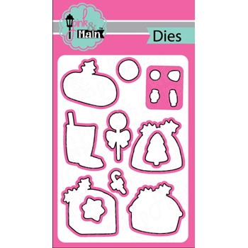 Pink and Main SWEET CHRISTMAS Dies PNM174