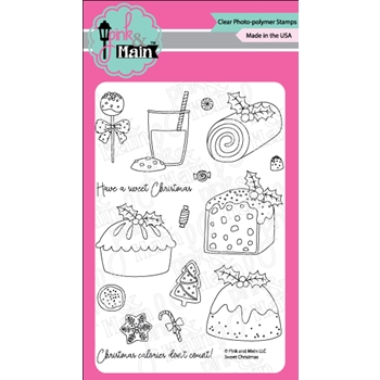 Pink and Main SWEET CHRISTMAS Clear Stamps PM0301