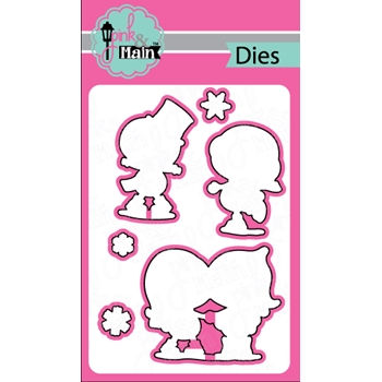 Pink and Main SNOW SWEET Dies PNM172