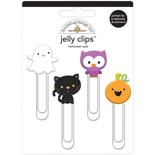 Doodlebug HALLOWEEN PALS Jelly Clips Paper Clip Pumpkin Party 6162 Preview Image