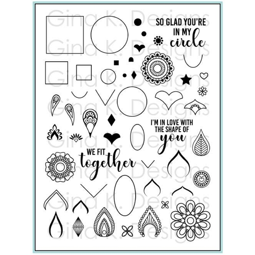Gina K Designs MANDALA MAKER Clear Stamps 3337 Preview Image