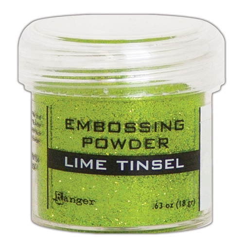 Ranger Embossing Powder LIME TINSEL epj64541 Preview Image