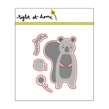 Right At Home SNUGGLY SQUIRREL Die Set 38285rh*