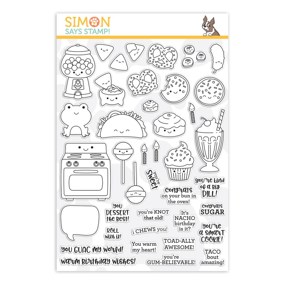 Simon Says Clear Stamps I CHEWS YOU sss101934 zoom image