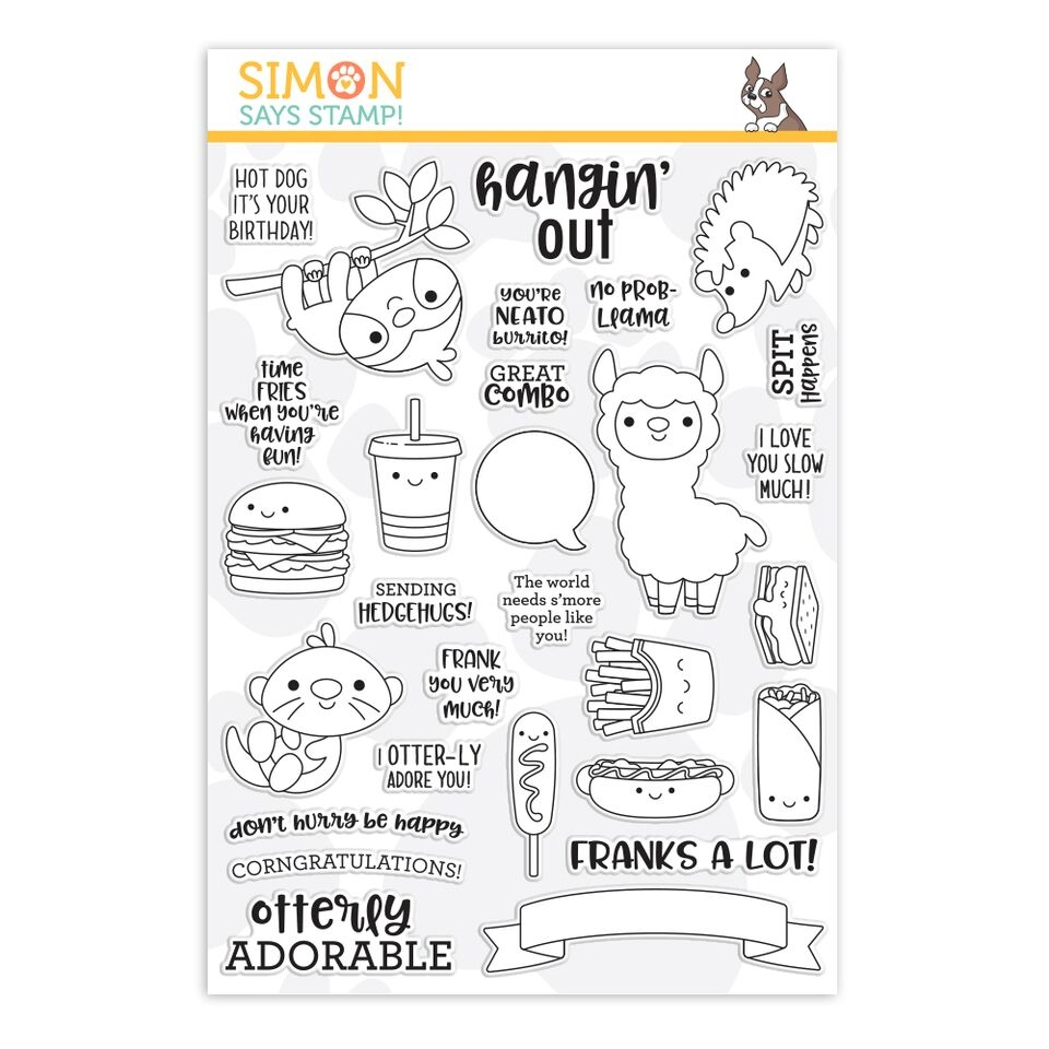 Simon Says Clear Stamps SO PUN FRIENDS sss101935 zoom image