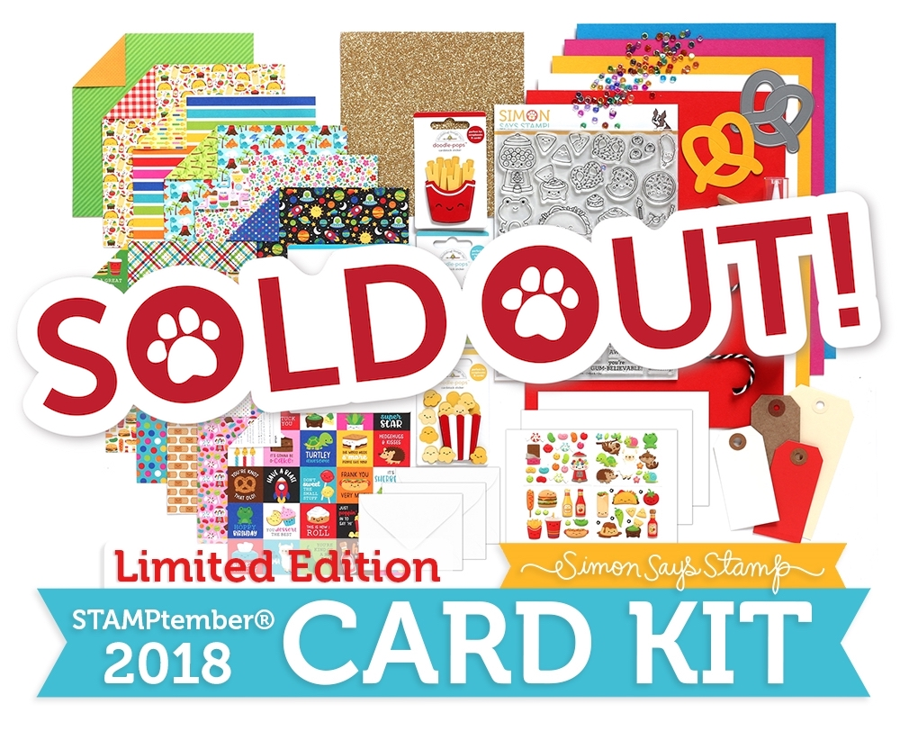 Limited Edition Simon Says Stamp I CHEWS YOU 2018 Card Kit CYSSK18